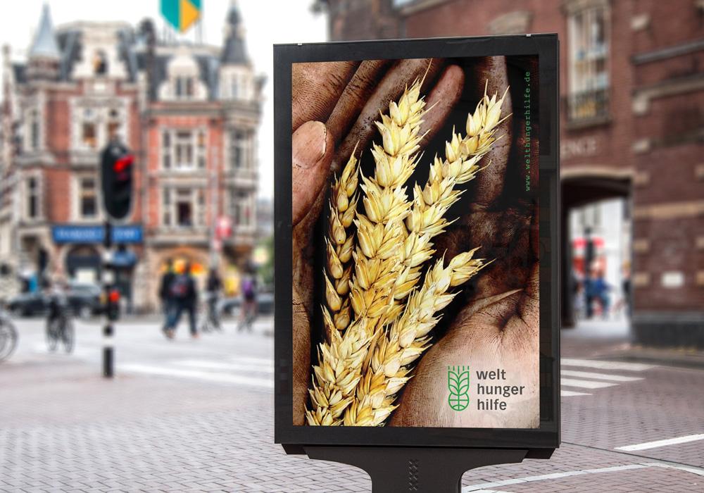 Promotion-Plakat Deutsche Welthungerhilfe | DEPUNKT