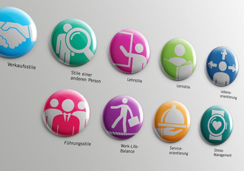 Iconentwicklung für result. learning & transfer | DEPUNKT